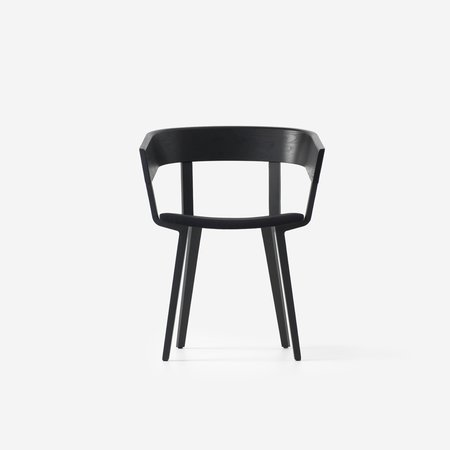 Odin Chair Upholstered (Black Ash)