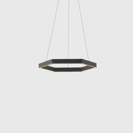 Hex 750 Pendant (Black)