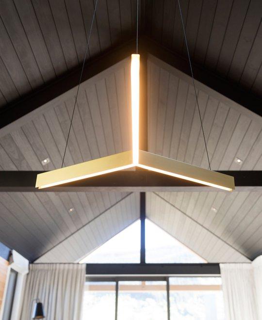 Studio Lighting Nz: Tri Pendant, Black