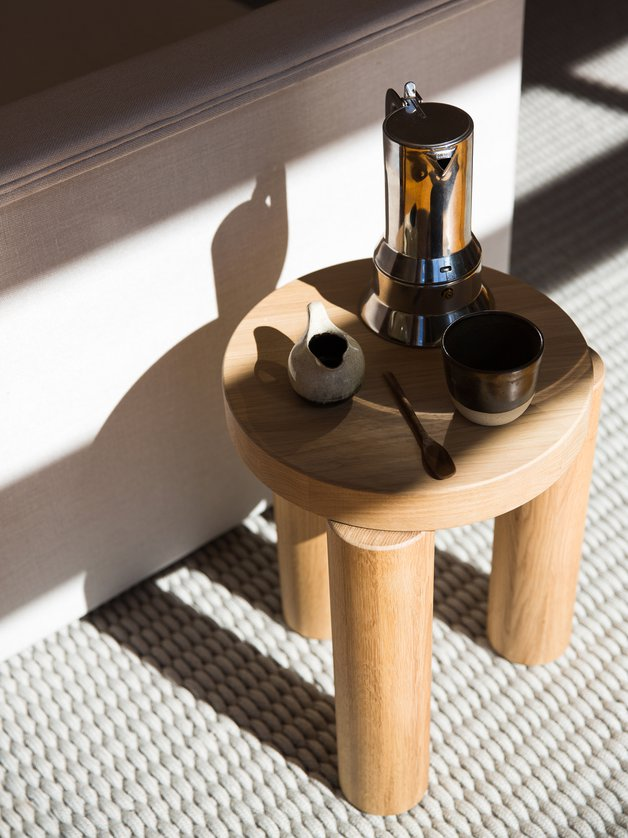 Offset Stool / Sidetable