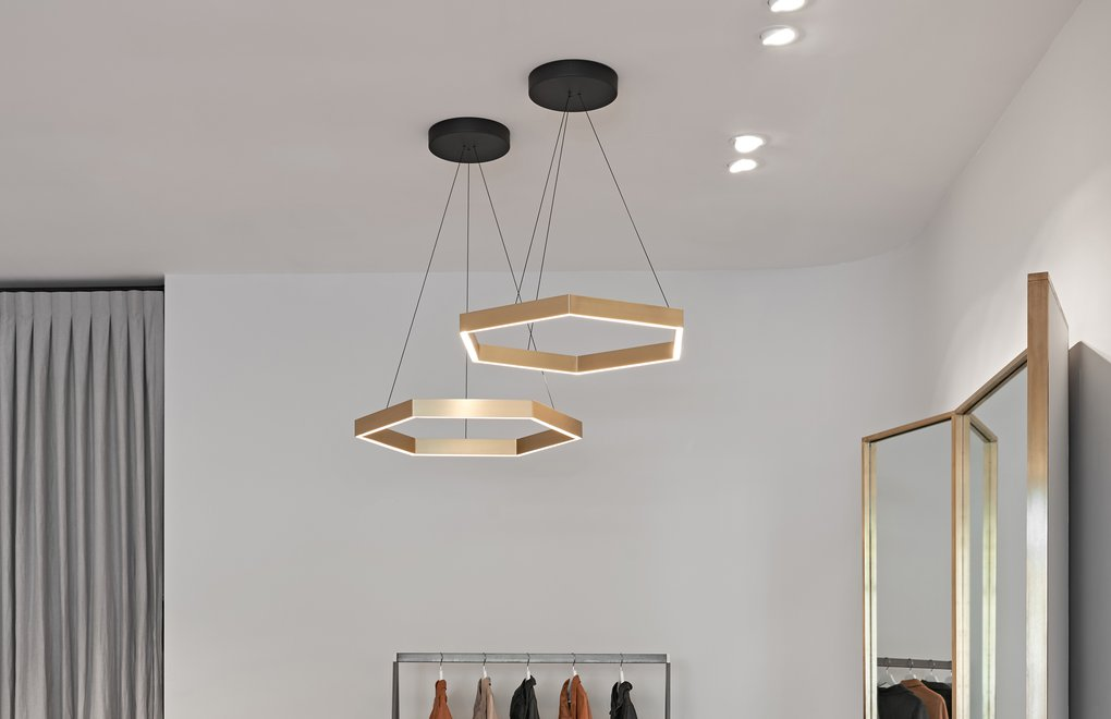 Hex 750 Pendant, Dolci Firme