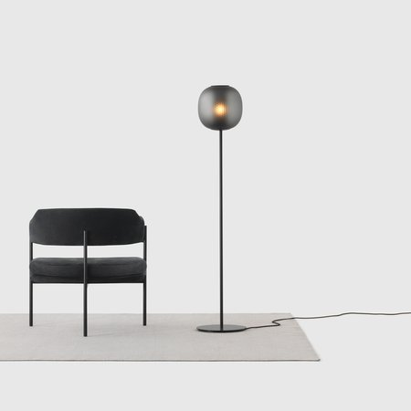 Bloom Floor Light (Black)