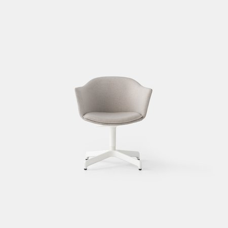 Felix Swivel Chair (Wht Base)