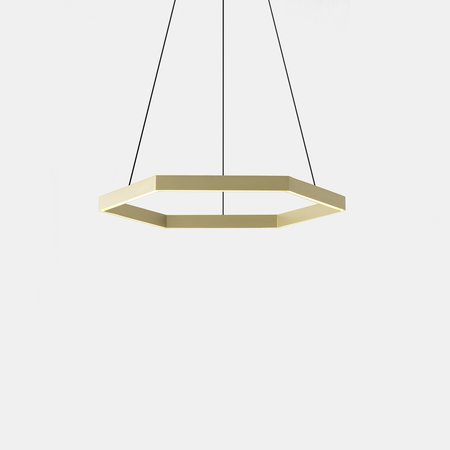 Hex 1000 Pendant (Brushed Brass)