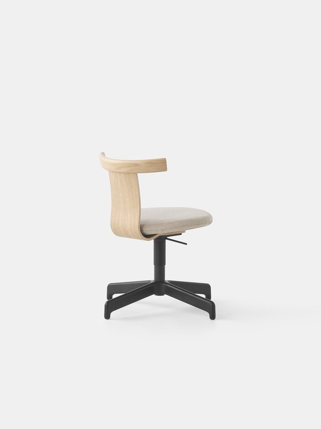Jiro Swivel Chair - Upholstered